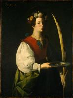 Франсиско де Сурбаран. Святая Люси