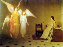 Томас Купер Готч. Явление ангелов