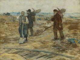 Жан-Франсуа Рафаэлли. Трое железнодорожников