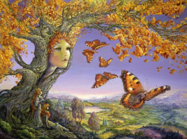 Жозефина Уолл. Дерево бабочек
