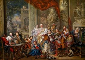 Иоганн Георг Платцер. Концерт во дворце
