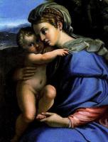 Аннибале Карраччи. Мадонна с ребенком