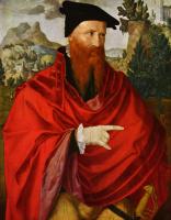 Ян ван Скорел. Портрет анабаптиста Давида Йориса