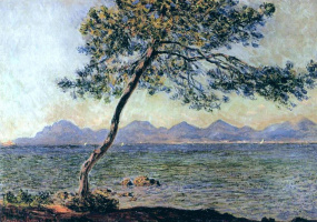 Claude Monet. On the cap d'antibes