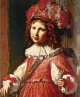 Элизабетта Сирани. Портрет Винченцо Фердинандо Рануцци в образе Амура