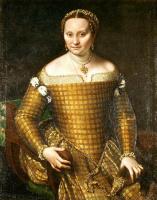 Sofonisba Angisola. Portrait of Bianca Ponzoni Angvissola, mother of the artist