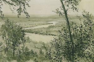 Георгий Семенович Верейский. Пойма реки