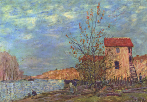 Alfred Sisley. Moret-sur-Loing