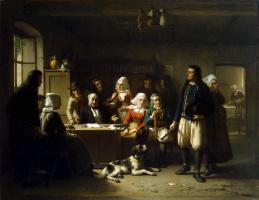 Теодор Бернард де Хёвель. После вскрытия завещания