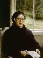 Альберт Густав Аристид Эдельфельт. Портрет матери художника