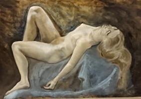 Юлия Герцен-Лилли. Спящая дева