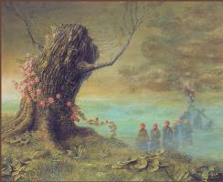 Отто Фрелло. Старое дерево