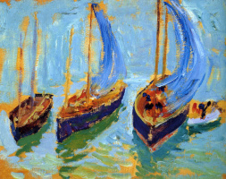 Бернхард Кутманн. Три лодки