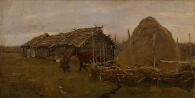 Валентин Александрович Серов. Стог сена