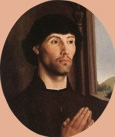 Ван Дер Гоес Гюго. Портрет молодого человека