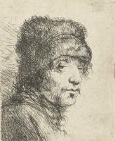 Ян Ливенс. Портрет мужчины в шапке