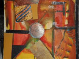 Nino Archilovna Givishvili. Abstract composition.