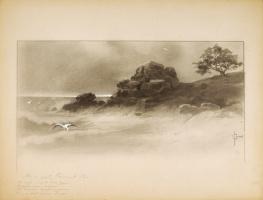 «Сказка о Царе Салтане» 1890-1900 «В море остров был крутой,  Непривольный, нежилой»  белила