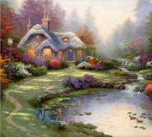 Thomas Kincaid. Cottage Everett