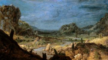 Геркулес Сегерс. Долина реки