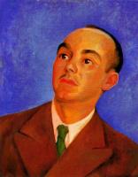 Диего Мария Ривера. Мужчина смотрит вверх