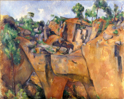 Paul Cezanne. Quarry at Bibemus