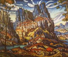 Константин Федорович Богаевский. Гора Св. Георгия