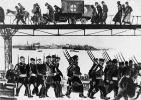 Aleksandr Aleksandrovich Deineka. The Defense Of Petrograd