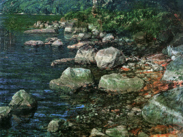 Александр Андреевич Иванов. Вода и камни у монастыря