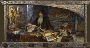 Дмитрий Павлович Костылев. Святитель Пётр Московский
