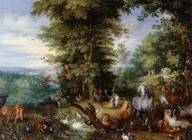 Ян Брейгель Старший. Адам и Ева в Эдемском саду