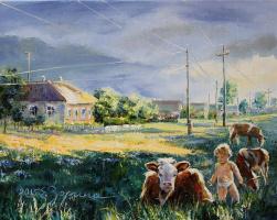 Elena Nikolaevna Zorina. Barefoot childhood