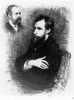 Василий Васильевич Матэ. Портрет П.М.Третьякова. Офорт 1894