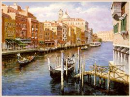 Сэм Парк. Гранд-канал, Венеция