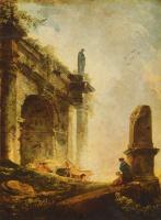 Гюбер Робер. Античные руины