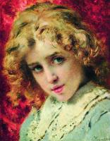 Константин Егорович Маковский. Детская головка (Портрет сына Константина?)