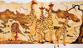 Луиза Морин. Жирафы