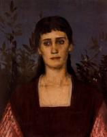 Арнольд Беклин. Портрет женщины