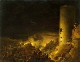 Роберт ван ден Хуке. Штурм крепости