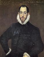 Эль Греко (Доменико Теотокопули). Портрет джентльмена из Каса-де-Лейва