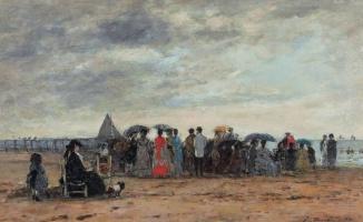 Пляж Трувиля