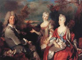Никола де Ларджильер. Семейный портрет