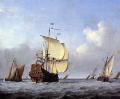 Виллем ван де Вельде Младший. Море