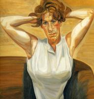 Люсьен Фрейд. Фигура с обнаженными руками