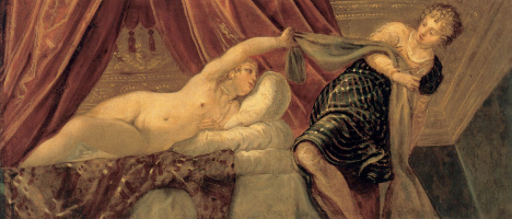 Jacopo Tintoretto. Joseph and Potiphar's wife
