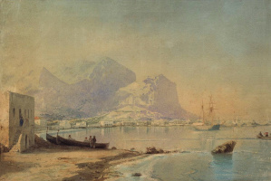 Ivan Aivazovsky. In the Harbor