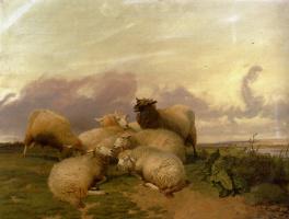 Томас Сидней Купер. Овцы пасутся
