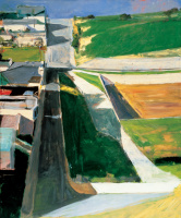 Richard Dibenkorn. Urban landscape No. 1