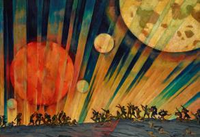 Konstantin Fedorovich Yuon. New planet