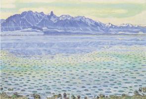 Фердинанд Ходлер. Озеро Тун